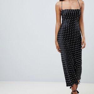 Bec & Bridge low back polka dot dress